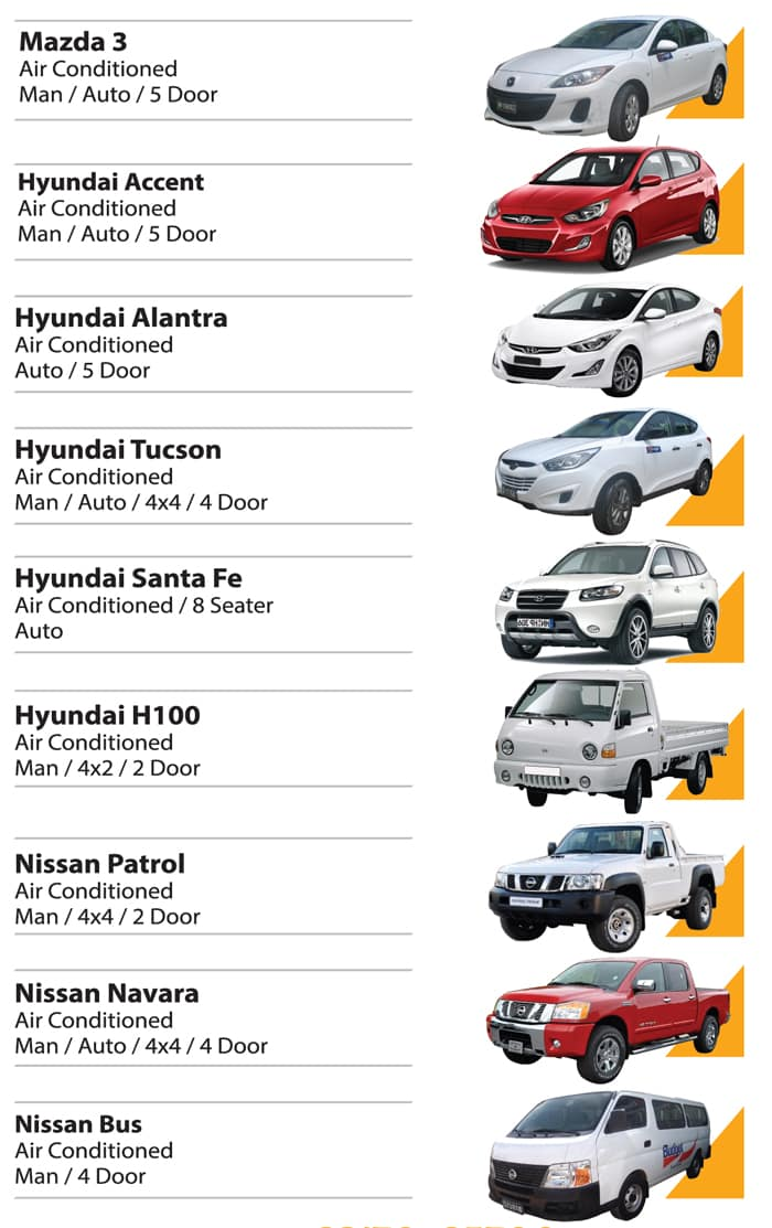 Budget Rental Intermediate Car