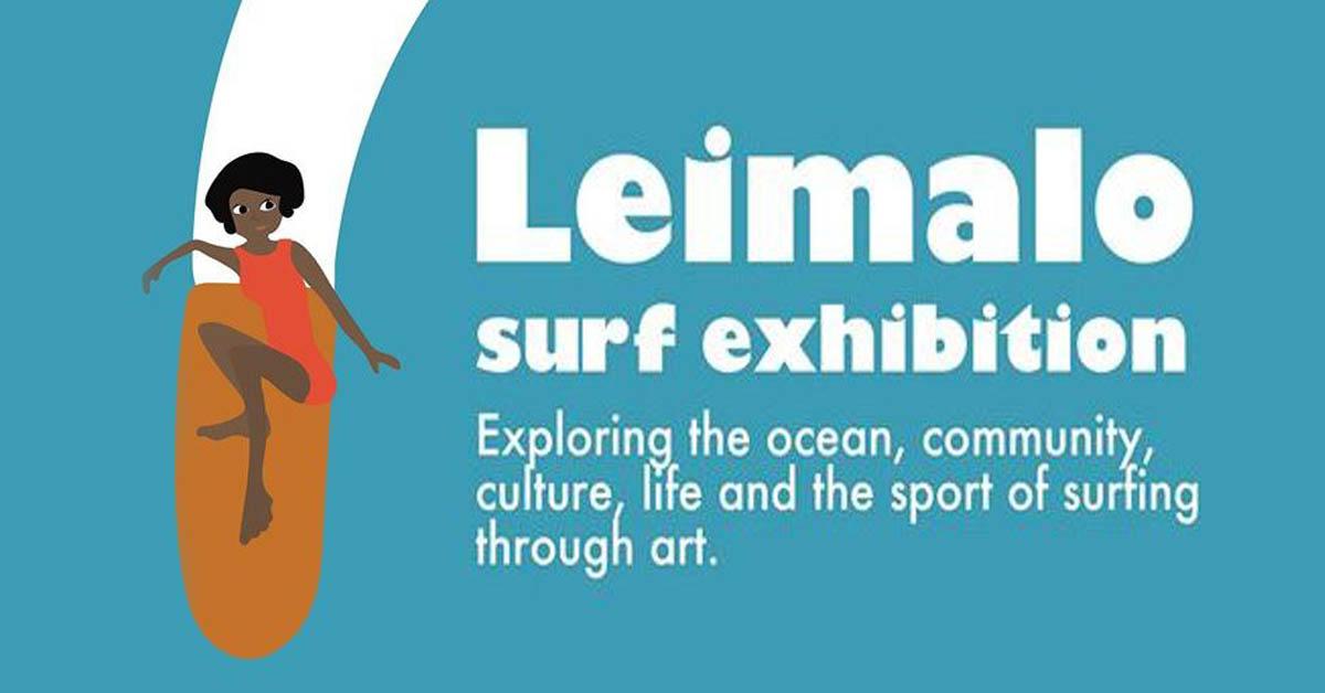 Leimalo Surfing Exhibition