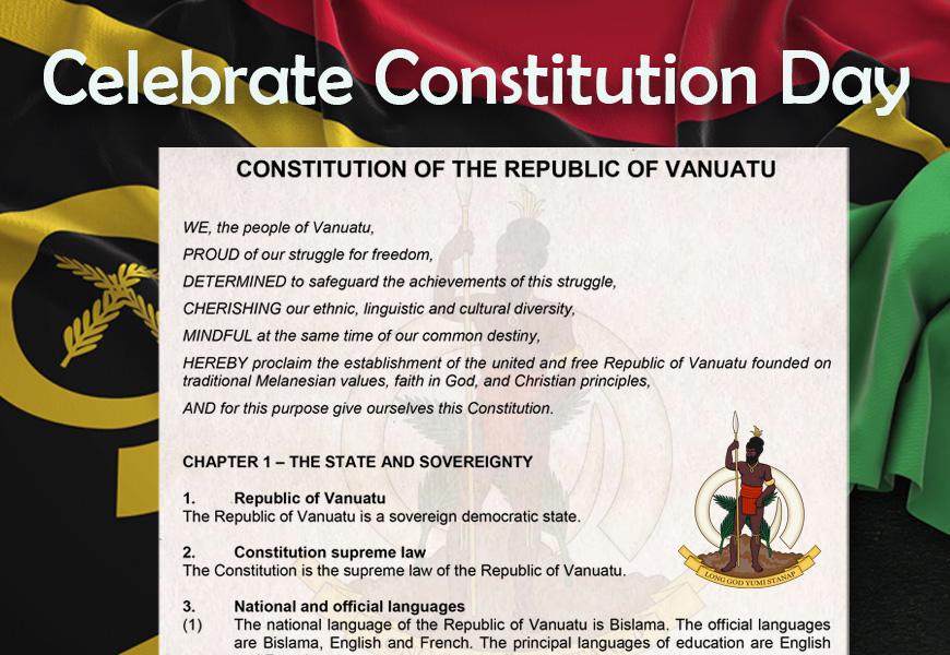 constitution day public holiday wotz on vanuatu