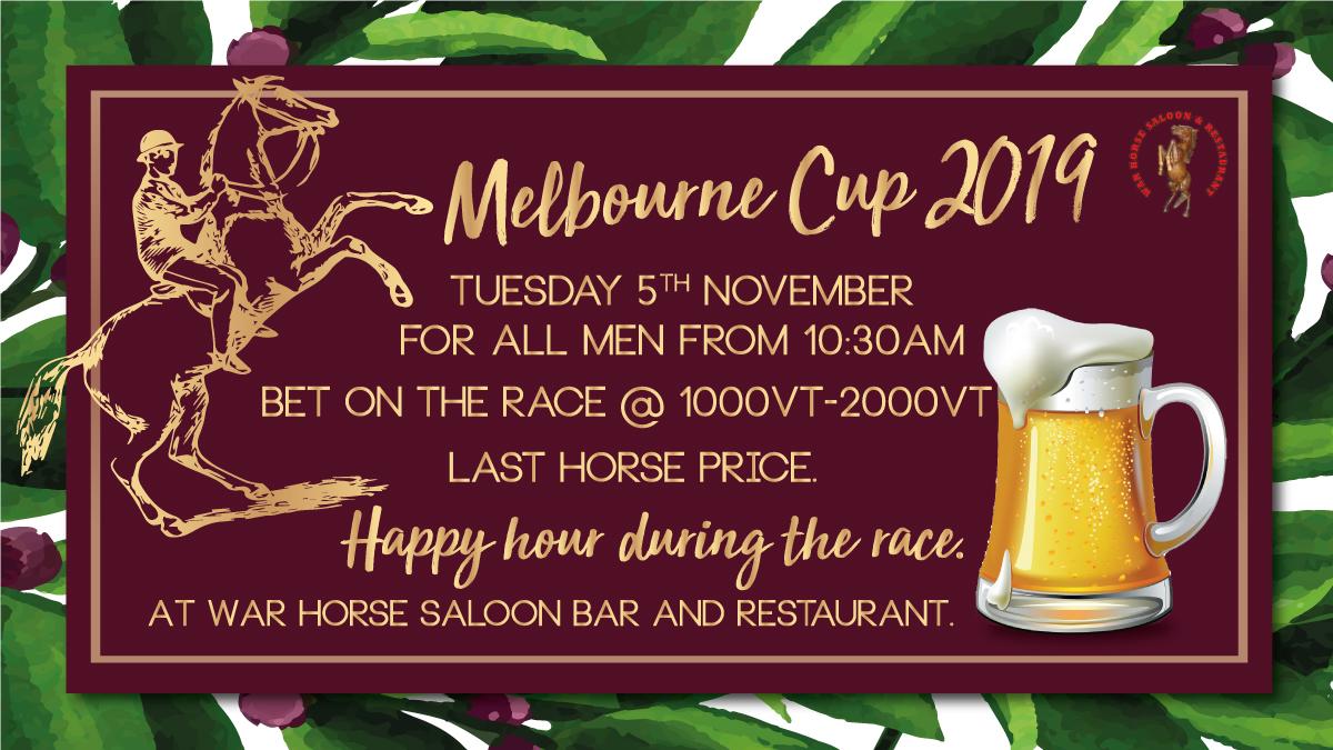 Melbourne Cup 2019 - The Warhorse Saloon Bar & Restaurant ...