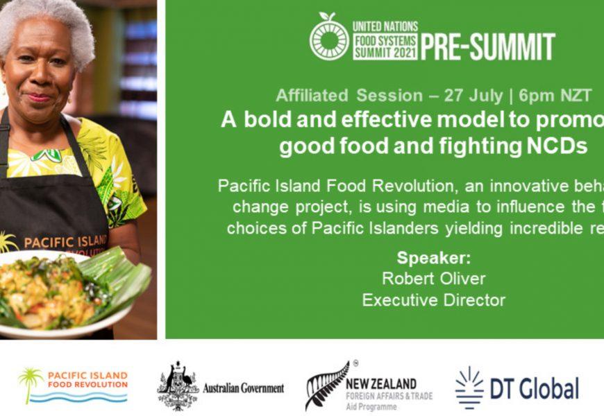 UN Food Systems Pre-Summit - Pacific Island Food Revolution 1