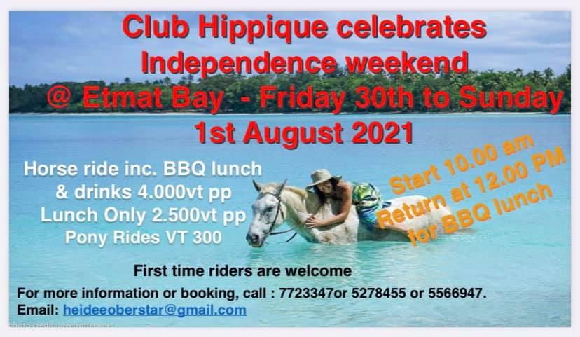 Club Hippique Celebrate Independence Week - Etmat Bay 1