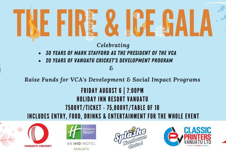 VCA FIRE & ICE GALA - Holiday Inn Resort Vanuatu 1