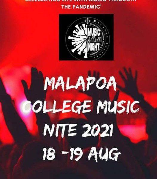 Malapoa College Music Night 2021 1